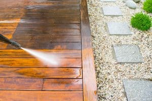 Tip 1 - Maintenance of your patio
