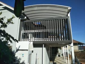Project of the Month - vertical louvres