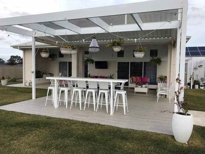 Project of the Month September Outdoor kitchen 2