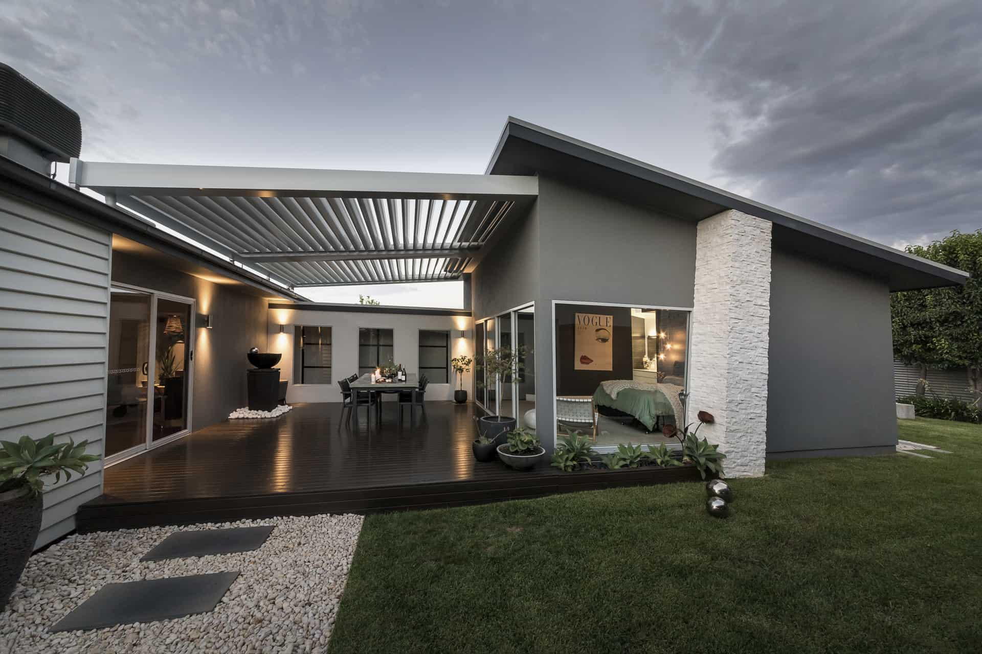 The top four things to consider when designing the ideal patio for your outdoor area