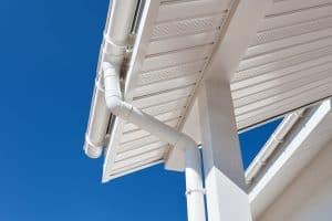 clean patio gutters