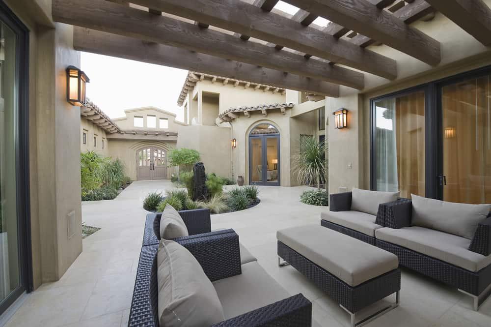 indoor outdoor luxury room