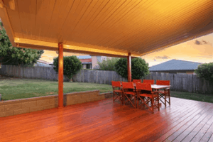 insulated outdoor ceiling