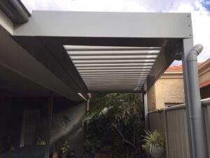 Weather-Proof Walkway - Ultimate Alfresco build of Patios, Decks / decking, Pergolas . Alfresco ideas for outdoor living spaces (incl. retractable roofs) servicing in Albury Wodonga, Wagga, Shepparton and surrounding areas in northern VIC